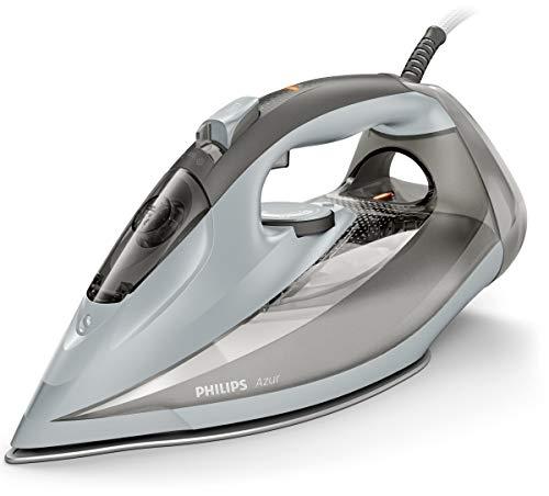 Philips Azur GC4566/80 - Plancha (Plancha a vapor, Suela de SteamGlide, 2 m, 250 g/min, Gris, 50 g/min)