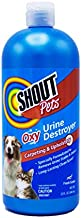Shout for Pets Turbo Oxy Urine Destroyer   Carpet Cleaner and Pet Odor Eliminator in Fresh Scent, 32 Ounces, Model:FF4263