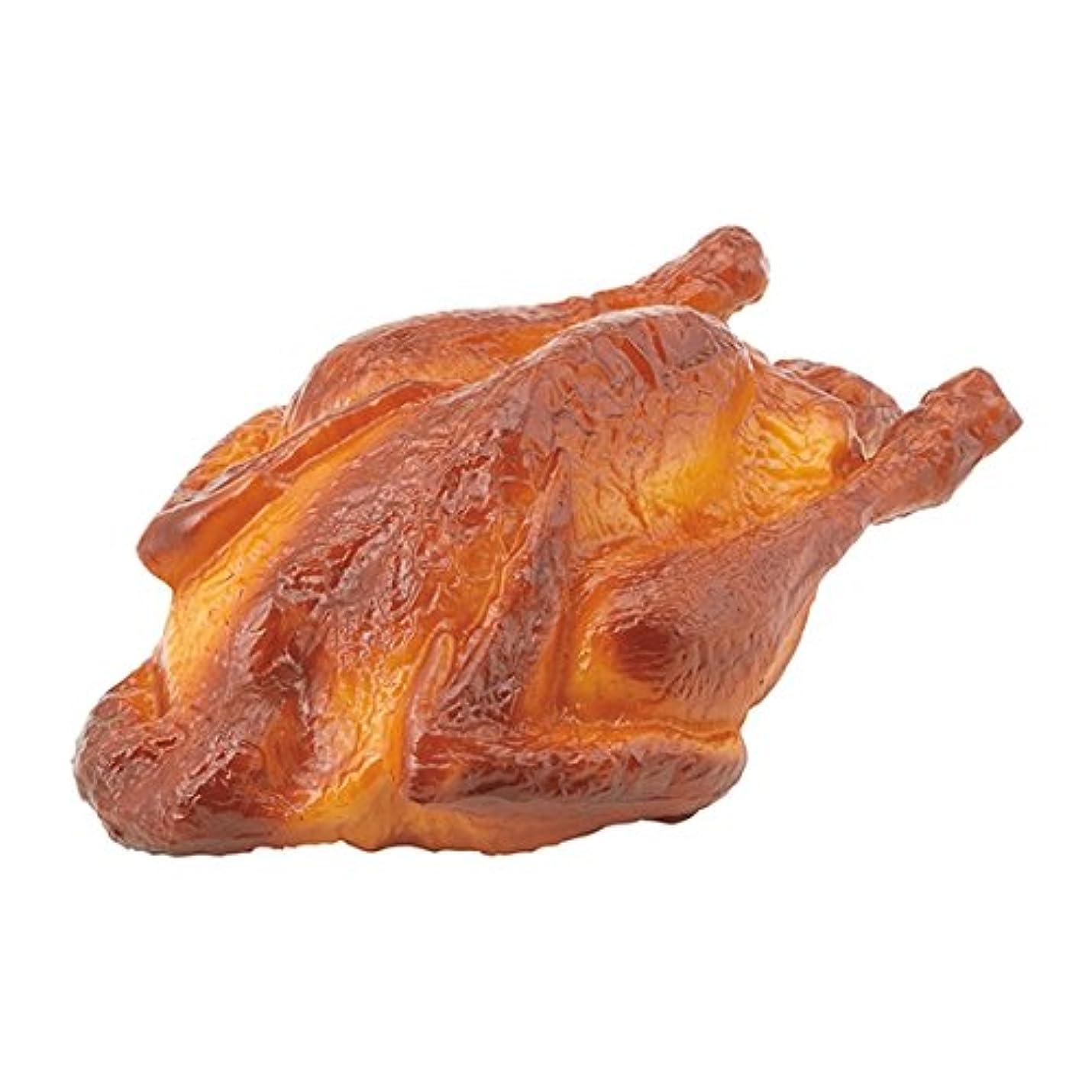 偽装する柔らかい足バルブローストチキン(プラスチック)(VF1202)[食品サンプル フェイクフード ディスプレイ 肉 チキン ローストチキン クリスマス]