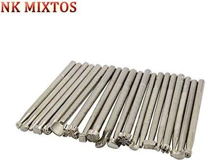 Tool Parts 20pcs Metal Stamp Leather Carving Set Great interest DIY Max 87% OFF