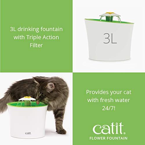 Catit Flower Plastic Cat Fountain