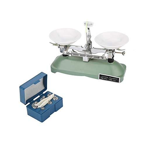 【𝐂𝐡𝐫𝐢𝐬𝐭𝐦𝐚𝐬 𝐆𝐢𝐟𝐭】200 g/0,2 g Mechanische Waage mit Waage mit Waage, Pinzette und verschiedenen Gewichten