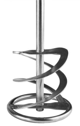 Berg WRR 120 G 740 Helix Mixer met ring lengte 74 cm Diameter 16 cm zilver