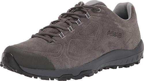 Asolo Women's Flyer Leather Hiking Shoe Beluga 8
