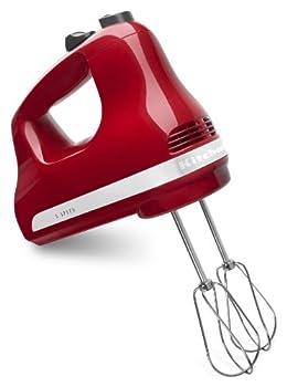 KitchenAid 5-Speed Ultra Power Hand Mixer Empire Red