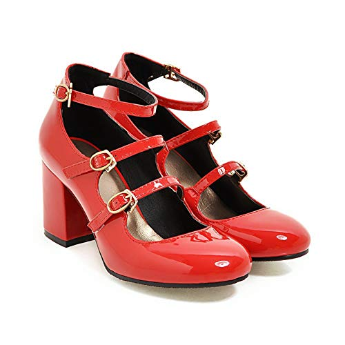 Marrol Dangan Ronpa Danganronpa Celestia Ludenberg Cosplay Shoes Red