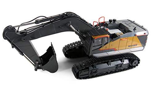 Amewi- Raupenbagger Kunststoff Escavatore a cingolo ACV730 in plastica 1:14 RTR, 22431