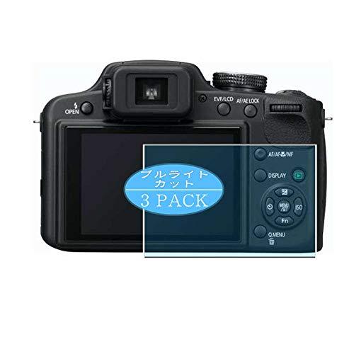 VacFun 3 Piezas Filtro Luz Azul Protector de Pantalla, compatible con Panasonic Lumix DMC-FZ45, Screen Protector Película Protectora(Not Cristal Templado)