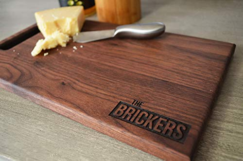 Personalized Laser Engraved Wood Cutting Board