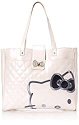 0b3516645 If you're looking for a Hello Kitty handbag that is chic, classic and  elegant with elegant lines then this is the one you want. We love the crisp  white look ...