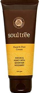 SoulTree Hand & Foot Cream With Kokum, Honey and Mountain Rosemary, 100gm