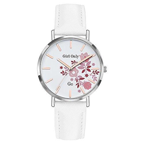 Go Girl Only Damen Analog Quarz Uhr mit Leder Armband 699011