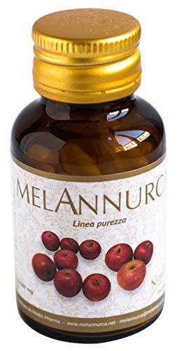 MELANNURCA - LA MELA DEL CUORE - 30 CAPSULE - contro la caduta dei capelli, con vero estratto di mela Annurca, 100% naturale, vegan, puro, un aiuto contro il colesterolo. Genuino, 100% alta qualità