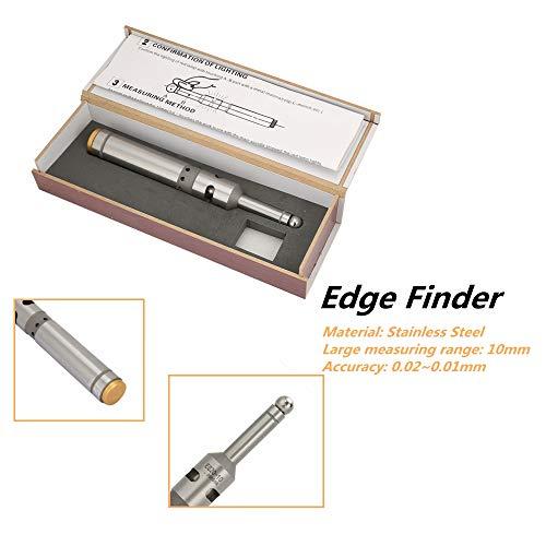 0,02~0,01 mm randzoeker, 10 mm roestvrij staal foto-elektrische randzoeker freesmachine CNC centrumzoeker