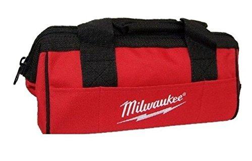 Milwaukee M12 6 Pockets Heavy Duty Canvas Contractor Tool Bag 13