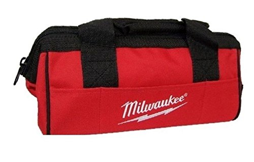 Milwaukee M12 6 Pockets Heavy Duty Canvas Contractor Tool Bag 13'L x 6' W x 7'H 902048016
