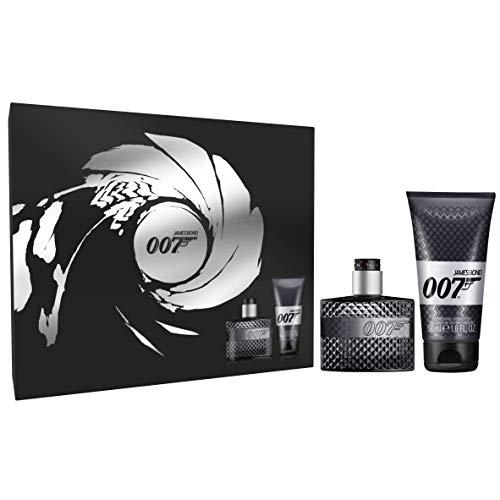 James Bond 007 for Man Geschenkset Eau de Toilette 30 ml + Duschgel 50 ml, aromatischer Duft für Ihn