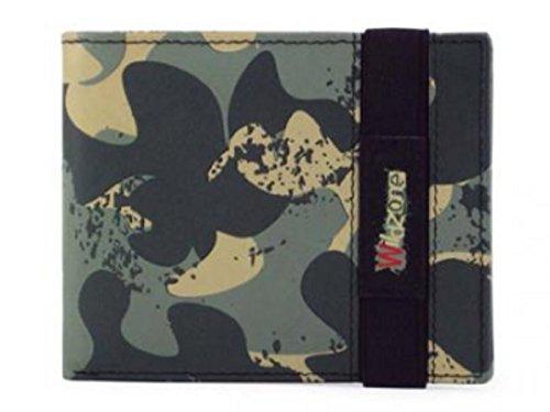 Billetero en piel estampado juvenil WILDZONE 'Colección Kampur' CAMUFLAJE