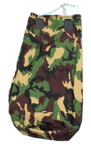 Lisaro Boxsack Camouflage Design Standard 120 X 50 cm ungefüllt/Profi Boxsack // Sandsack