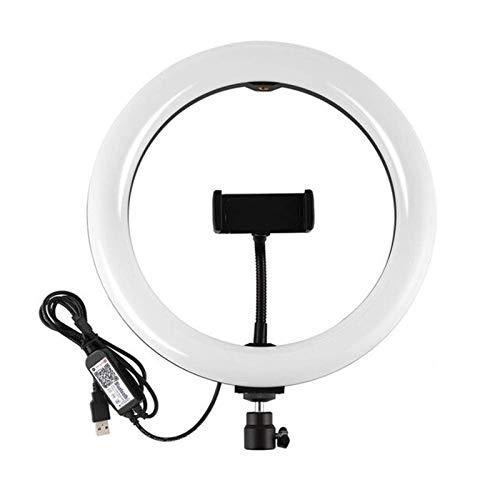 Heqianqian Selfie Anillo de Luz de 7.8 pulgadas Regulable Video Ring de Luz LED Tubo para transmisión en vivo LED anillo de luz