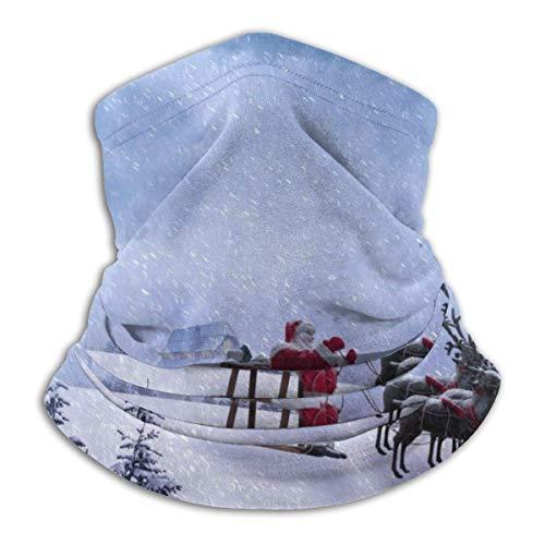 Trista Bauer Santa conduite cou guêtre visage écharpe Bandana bandeau sans couture soleil Uv vent protection contre la poussière ski équitation course à pied