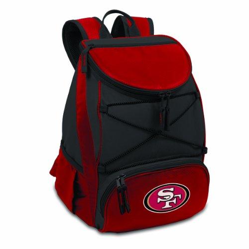 NFL San Francisco 49ers PTX Isolierter Rucksack-Kühler, Rot