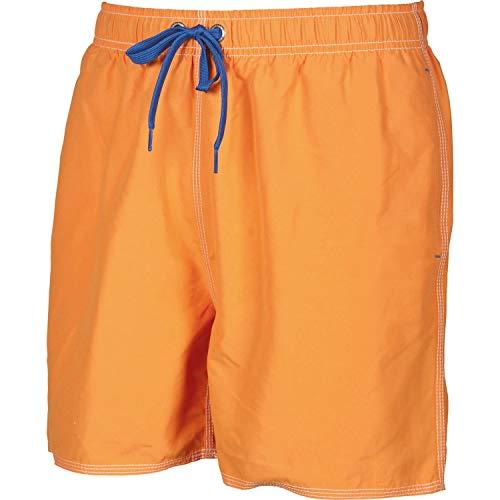 ARENA Fundamentals Solid - Costume da Bagno da Uomo, Uomo, Costume da Bagno a Pantaloncino, 40515, Tangerine Royal, XL