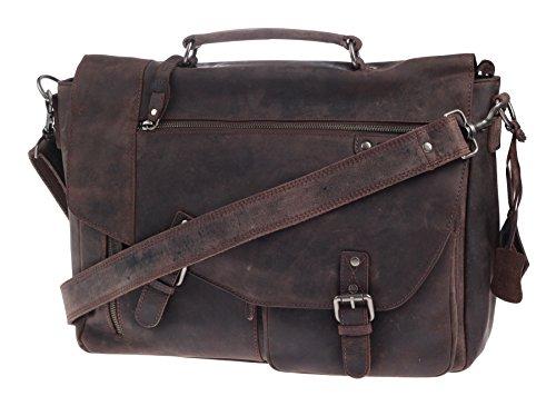 Greenburry Vintage Revival Messenger Serviette cuir 38 cm compartiment Laptop
