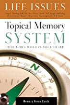 Topical Memory System: Life Issues, Memory Verse Cards