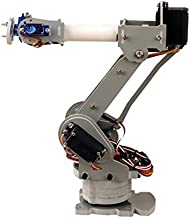 SainSmart 6-Axis Desktop Robotic Arm & Grippers, Assembled for Arduino UNO MEGA2560