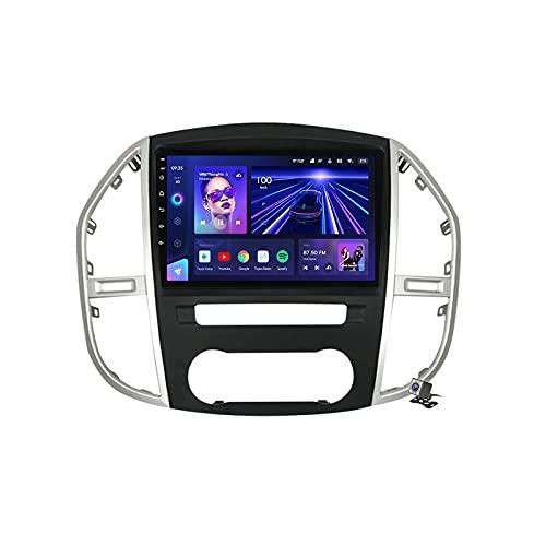 Buladala Android 10 GPS Navegador Coche para Mercedes Benz Vito 3 W447 2014-2020 - FM RDS Am Radio del Coche, Conexión a Internet WiFi/5G, Soporte DSP Carplay/BT Llamadas Manos Libres,7862: 4+64gb