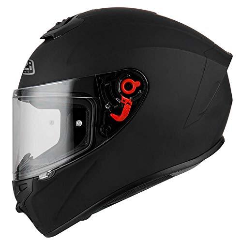 Casco de Moto Integral NZI Trendy Negro Mate (L)