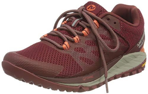 Merrell ANTORA 2 GTX, Zapatillas para Caminar Mujer, Rojo (Brick), 36 EU