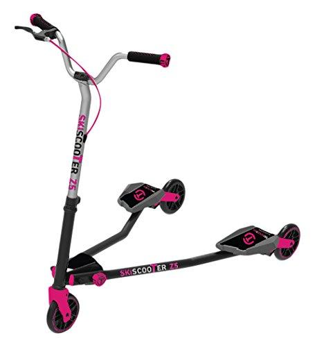 Smart Trike STZ5S2230200 Ski-Roller Z5, schwarz/rosa