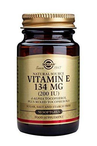 Solgar Vitamin E 134 Mg (200 Iu) Softgels, 50