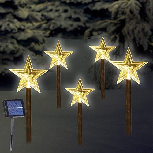 Solar Christmas Stake Lights