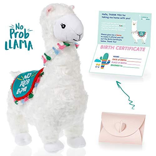 Llama Stuffed Animal - The Original No Prob Llama lama Alpaca Plush Animals Toy....