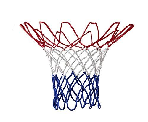 Basketballnetz Für Korb 43 cm lang für Metallringe Outdoor und Indoor mit Ø 45,7 cm
