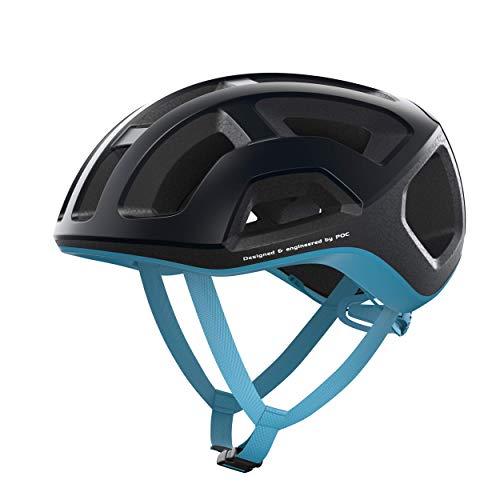 POC Casco de Ciclismo Unisex para Adultos, Ventral Lite, Uranium Black/Basalt Blue...