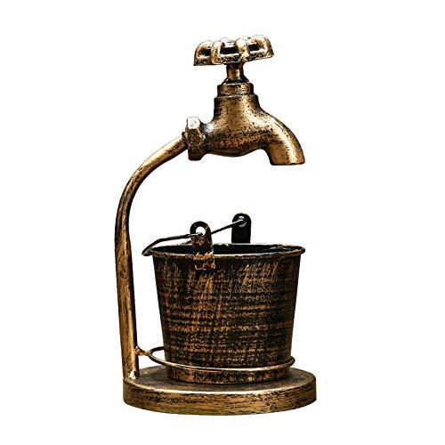 AIYIFU Cenicero Cenicero a Prueba de Viento Cenicero Decorativo Vintage para Cigarrillos Cenicero de Escritorio para Fumar Cenicero para Oficina Decoración del Hogar,