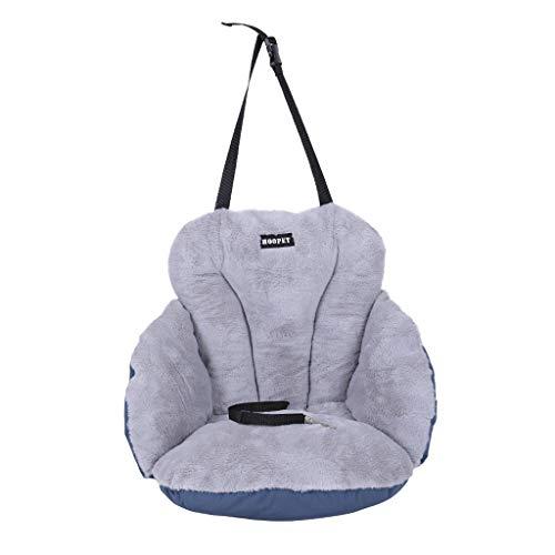 Kolylong® Haustier Auto Matte Winter Warm Weich Hund Katze Matte Pad Bett Matratze Schlafen Bett zum Klein Mittel Hund Katze Autositz mit Sicherheitsgurt Sicherheit und Komfort für Reisen