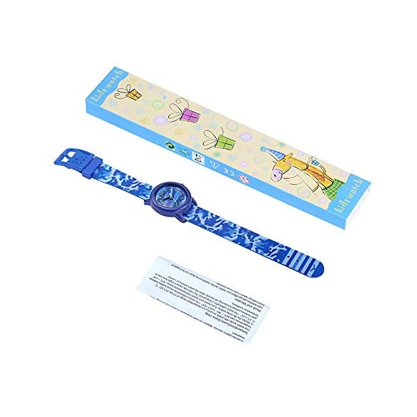 Kids Waterproof Watch, Toddler 3D Lovely Cartoon Analog Watches for Girl and Boy