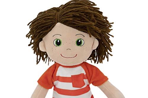 "Boy Soft Rag Doll - 14"" First Baby Doll for Kids - Plush Baby Toy - Boy Dolls Soft Doll- My First Doll- Plush Baby Doll- Boy Doll- Dolls for Toddlers"