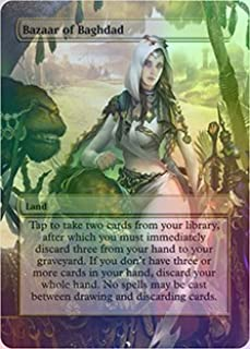 Bazaar of Baghdad - Casual Play Only - Customs Altered Art Foil