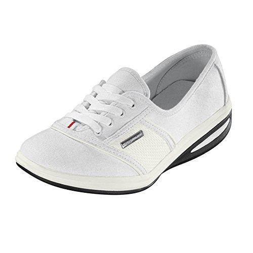 VenenWalker Venen Walker Aktivschuhe Gr.36-42 Sandale Sommerschuhe Damen Freizeit Schuhe (38, Weiß)