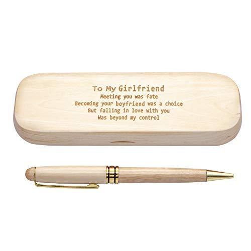 Estuche para bolígrafos de madera con grabado personalizado ...