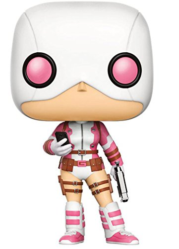 Funko POP! Marvel: Gwenpool con pistola y teléfono Exclusivo
