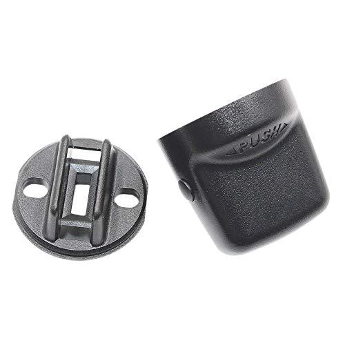 TOOGOO ZüNd Start Schalter Knopf Kappe & Einsatz für Keyless Lancer Outlander 4408A167 4408A031