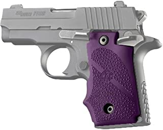 Hogue 38006 Sig P238 Grips, with Finger Grooves, Purple