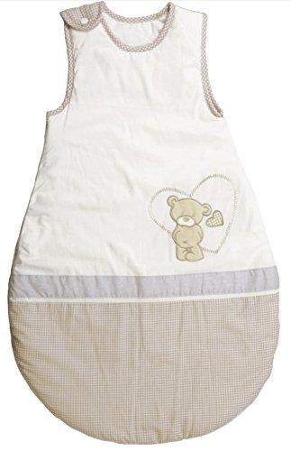 roba Schlafsack, 70cm, Babyschlafsack ganzjahres/ganzjährig, aus atmungsaktiver Baumwolle, unisex, Kollektion 'Liebhabär'